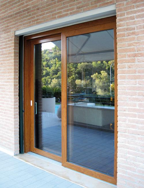 Officine santi guido infissi e persiani blindate in ferro e acciaio lavorate con legno o pvc - Persiane per finestre scorrevoli ...